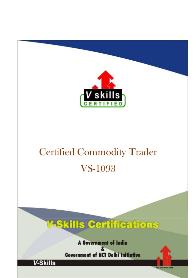 Certified Commodity Trader VS-1093