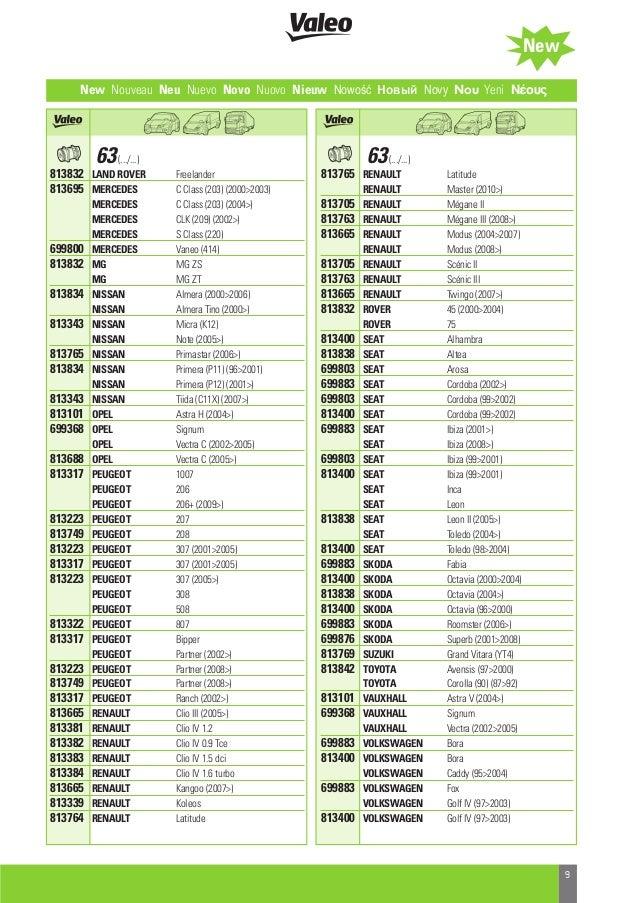 Valeo Air Conditioning 2013 catalogue 955603