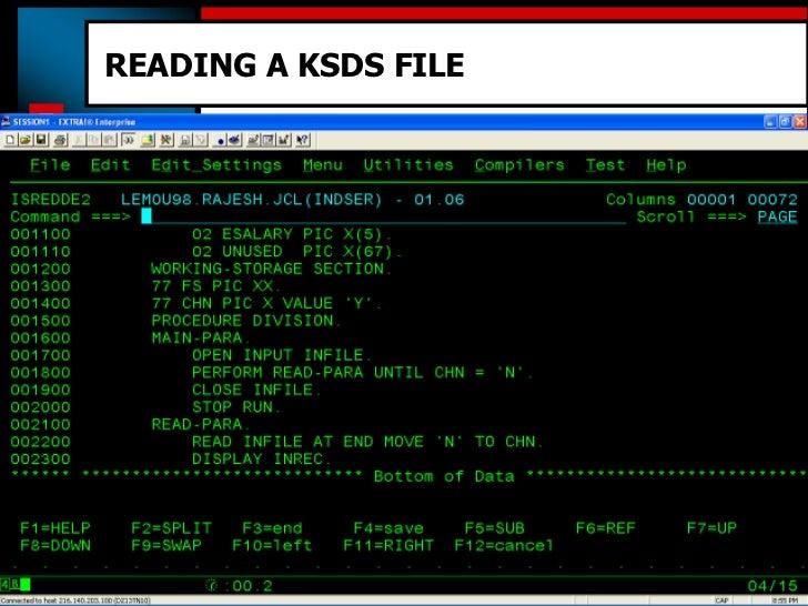 S0C4 x'4' abend while reading VSAM KSDS file