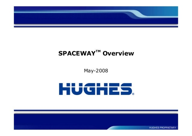 HUGHES PROPRIETARY SPACEWAY TM Overview May-2008