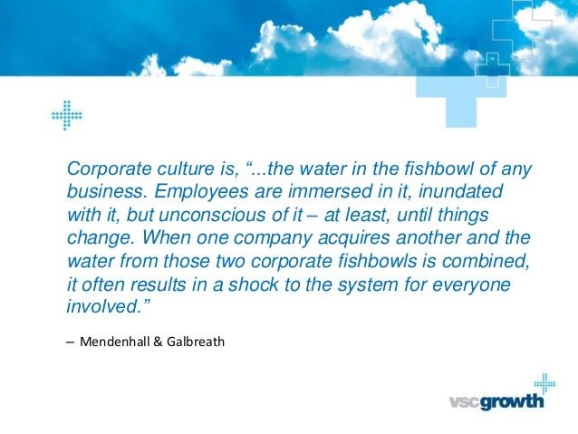 Culture in M&A - 5 reasons why it matters Slide 2