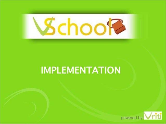 IMPLEMENTATION  powered by:
