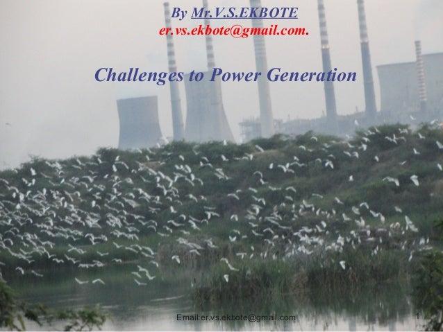 Water scenario past present and future
