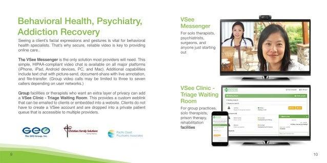 VSee telehealth use cases 2017