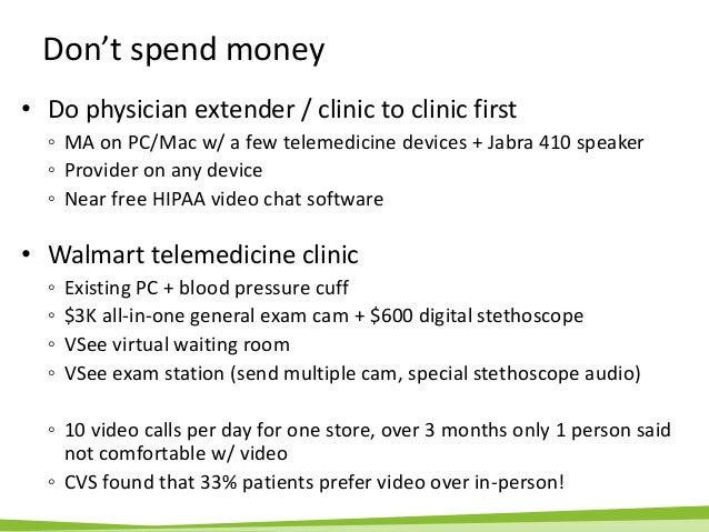 VSee Presentation - Telemedicine Tips for Urgent Care Centers