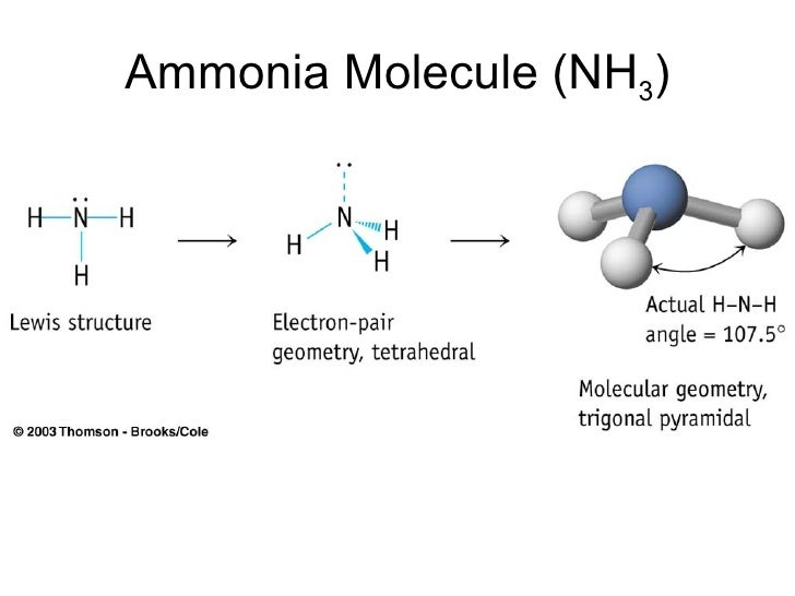 Vsepr ammonia molecule nh 3 ccuart Images