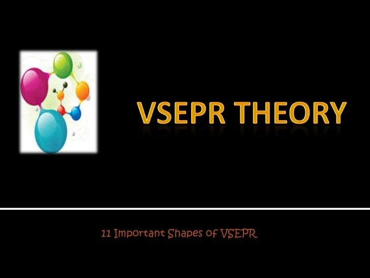 VSEPR THEORY<br />11 Important Shapes of VSEPR<br />