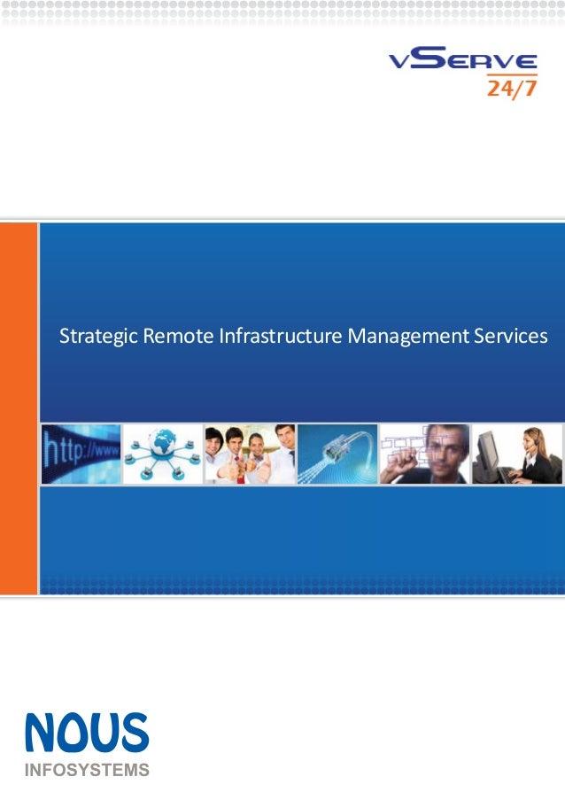 Strategic Remote Infrastructure Management Services