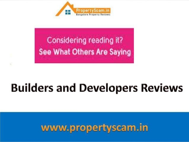 VSG Developers  Reviews,Ratings,Complaints on projects