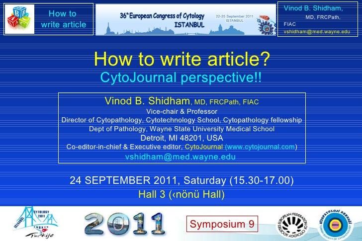 Vinod B. Shidham , MD, FRCPath, FIAC Vice-chair & Professor Director of Cytopathology, Cytotechnology School, Cytopatholog...