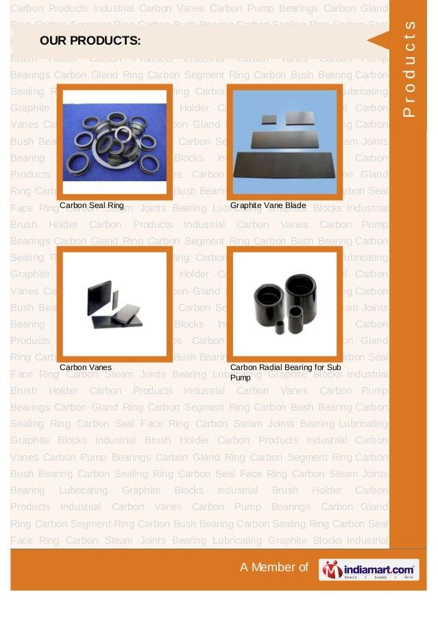 V. S. K. Shaft Sealing System, Navi Mumbai, Carbon Products & Pump Bearings Slide 3