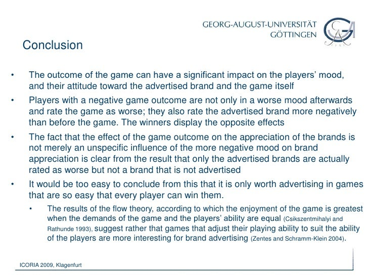 However, many computer games are based upon the principle of competition – making the outcome of the game a key element in...