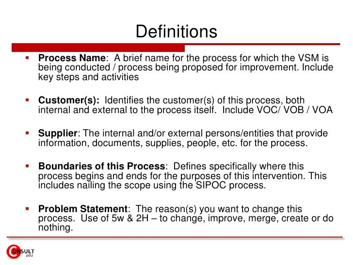 """What do they really want?</li></ul>To be considered """"value add"""", a process step must have YES to all these questions<br /..."""