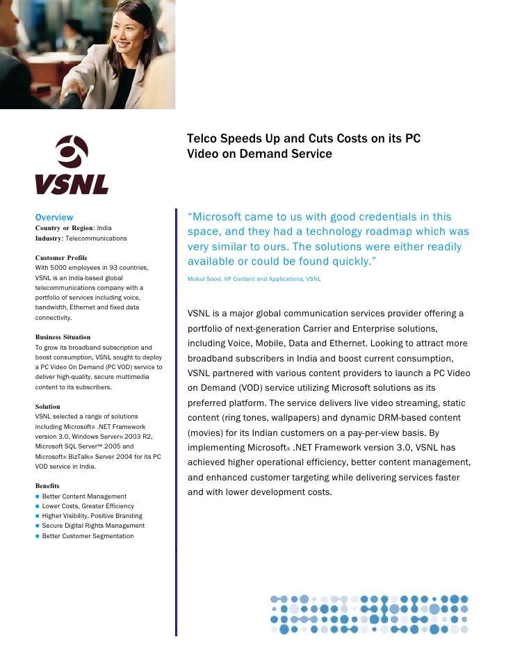 Microsoft Communications Server                                              Customer Solution Case Study                 ...