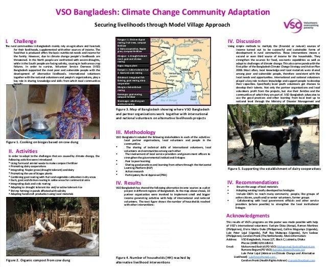 VSO Bangladesh: Climate Change Community Adaptation                                                                       ...