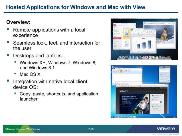 VMware vSphere 6 & Horizon View 6 1 – What's New ?