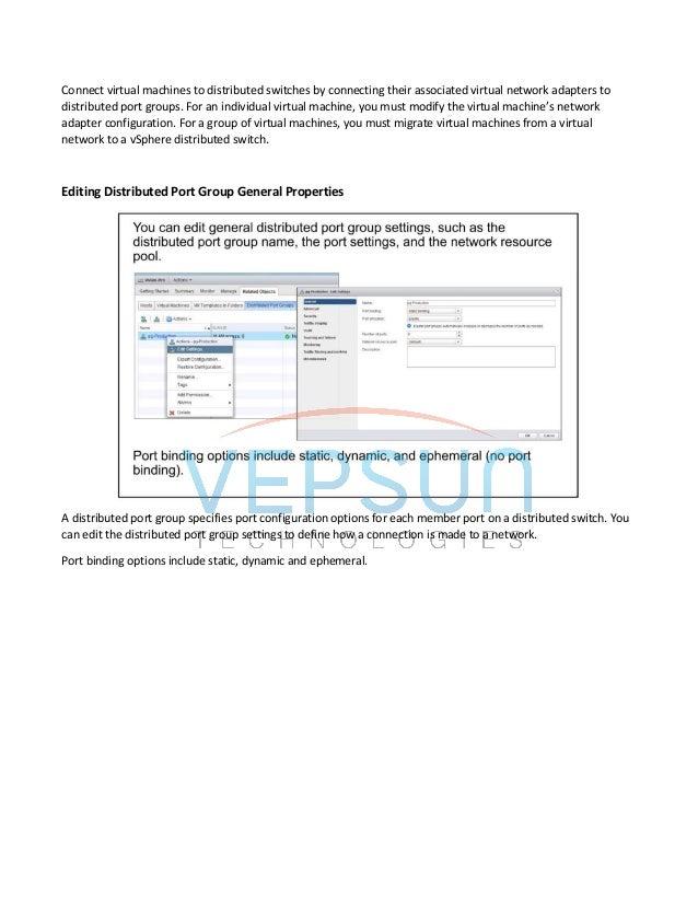VMware vSphere Networking deep dive