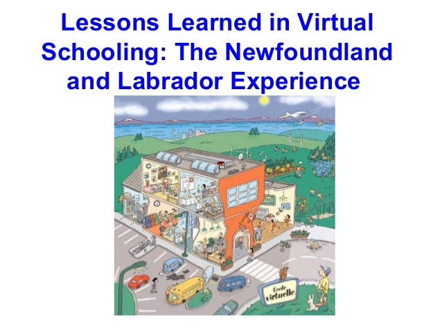 Lessons Learned in VirtualSchooling: The Newfoundland  and Labrador Experience