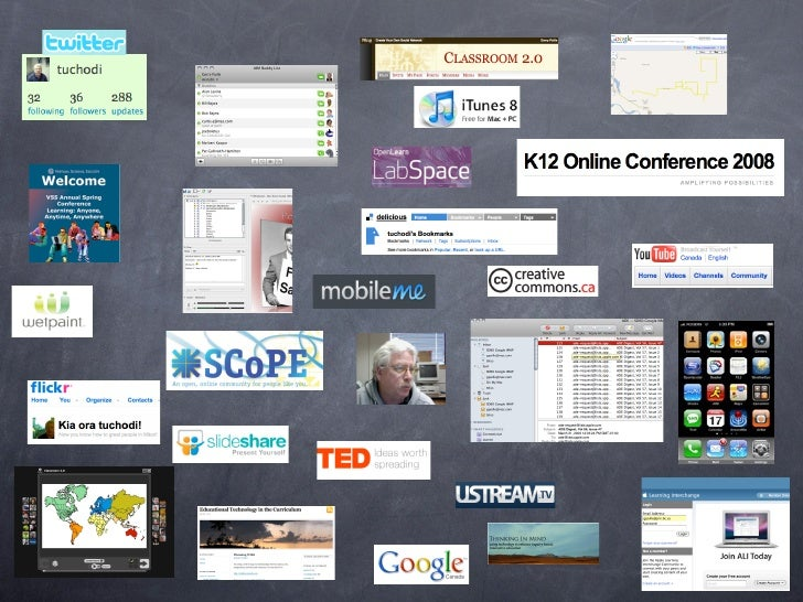 10 Web 2.0 Ways                   Stephen Downes   6. Create a slide on Zoho and incorporate an    image from Flickr that ...