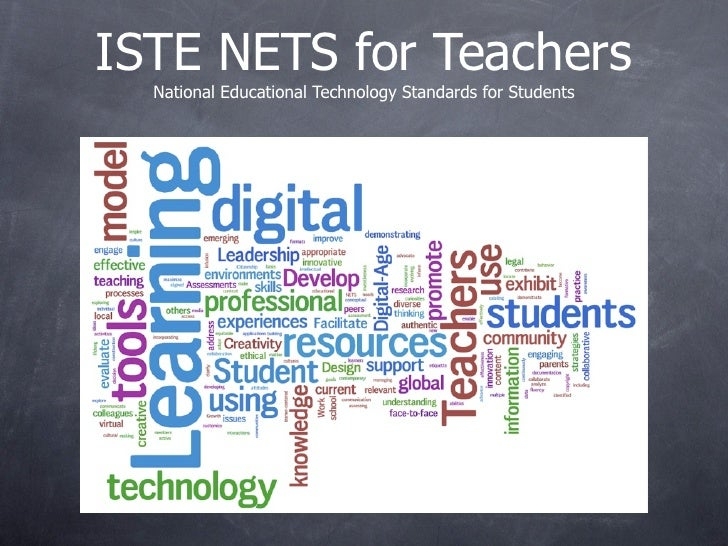 ISTE NETS for Teachers   National Educational Technology Standards for Students
