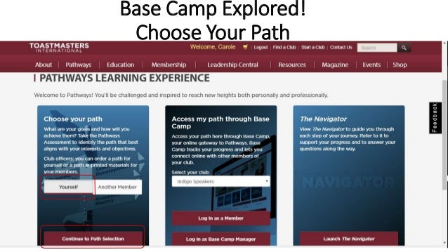 Base Camp Explored! Choose Your Path VSS 1