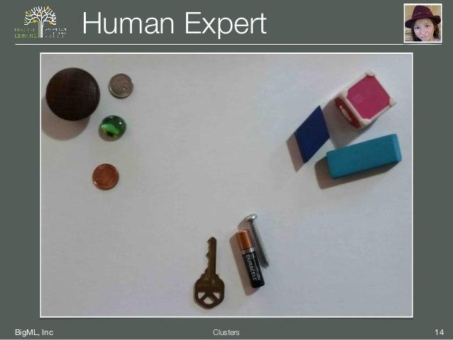 BigML, Inc 14Clusters Human Expert