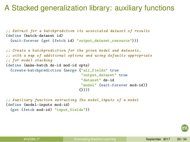 A Stacked generalization library: auxiliary functions ;; Extract for a batchpredction its associated dataset of results (d...