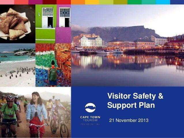 Visitor Safety & Support Plan 21 November 2013