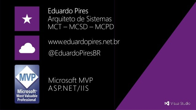 ASP.NET MVC 5.x Novidades do Visual Studio Summit 2014