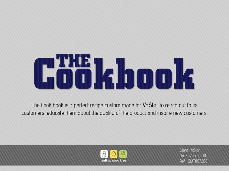 Cookbook#15 : The sexiest cookbook ever made (for inner wear brands))