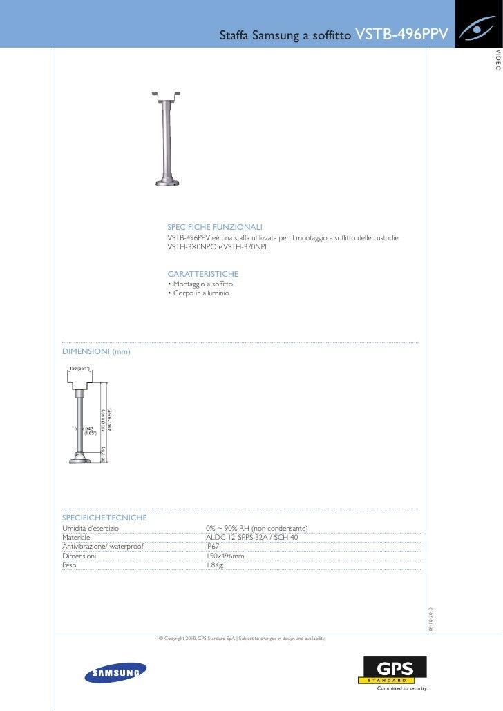 Staffa Samsung a soffitto VSTB-496PPV                                                                                     ...