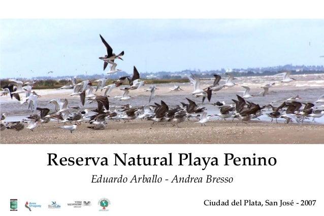 Reserva Natural Playa Penino Eduardo Arballo - Andrea Bresso Ciudad del Plata, San José - 2007