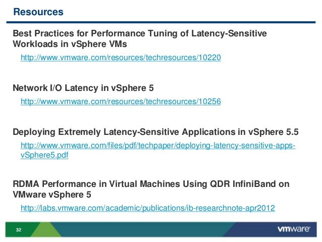 VMworld 2013: Silent Killer: How Latency Destroys