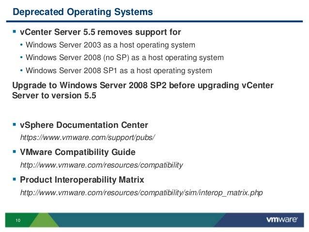 VMworld 2013: vSphere Upgrade Series Part 1: vCenter Server