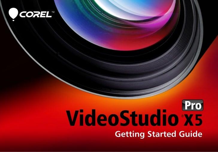 vsx5 getting started guide en rh slideshare net Corel VideoStudio Pro X5 Trial Corel VideoStudio Pro X5 Keygen