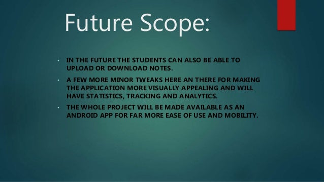 scope of student information system