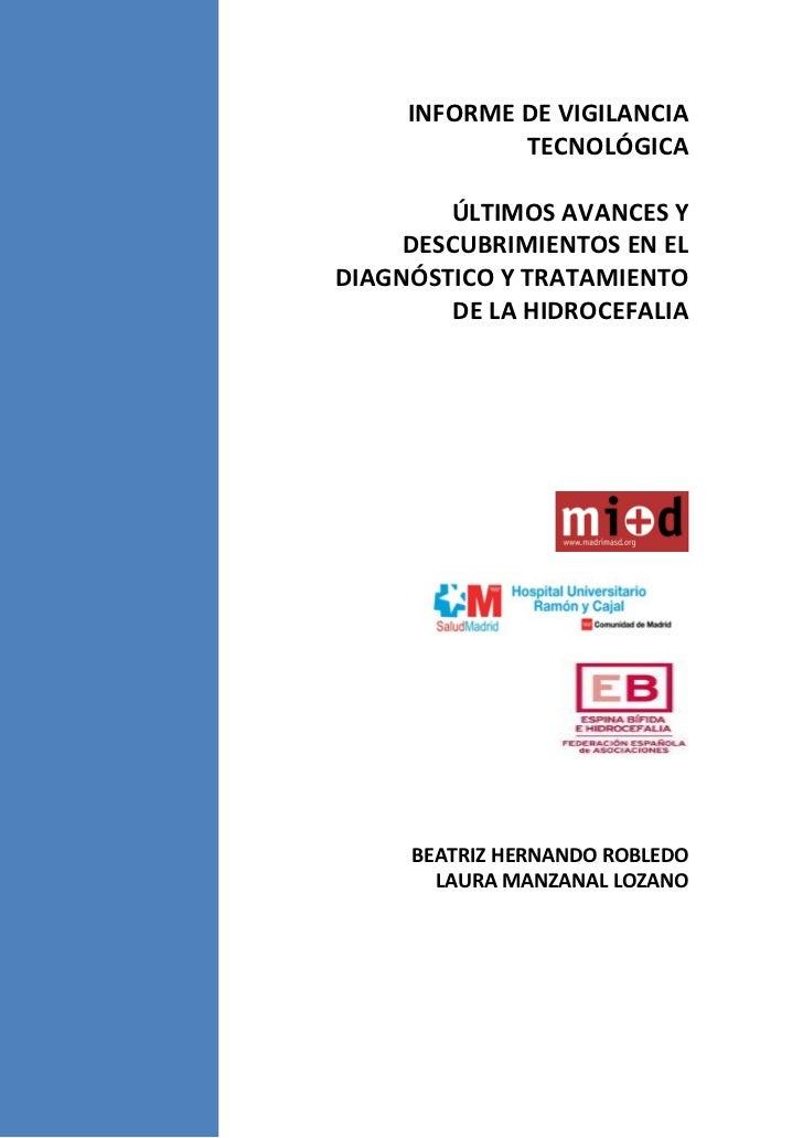Vigilancia Tecnológica: avances en el diagnóstico y tratamiento de la hidrocefalia