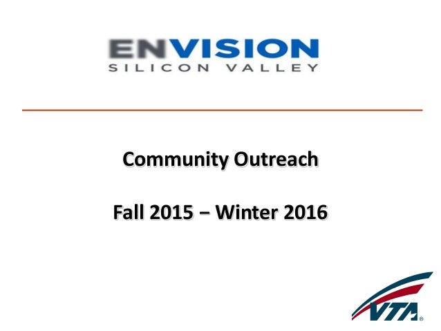 Community Outreach Fall 2015 − Winter 2016