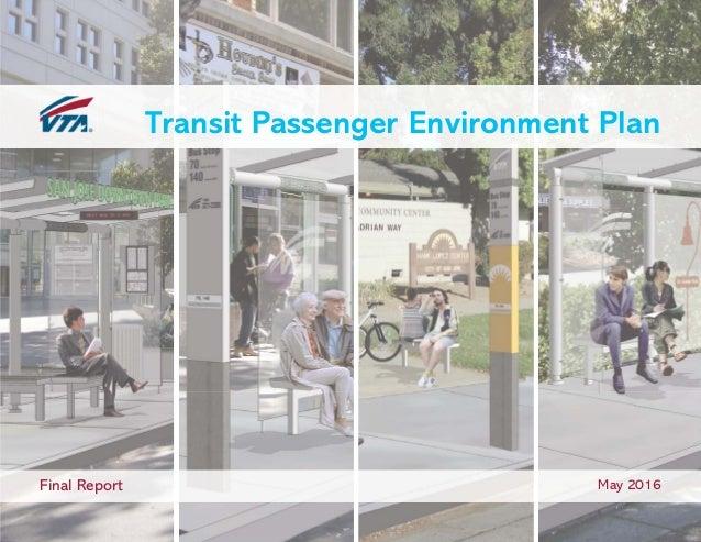 Transit Passenger Environment Plan Final Report May 2016