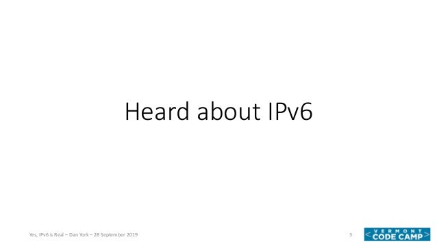Yes, IPv6 is Real! How To Make Your Apps Work (And Be As Fast As Possible)  Slide 3
