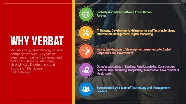 Verbat Technologies - Agile Development, Enterprise ...