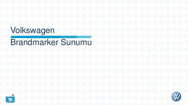 Volkswagen Brandmarker Sunumu