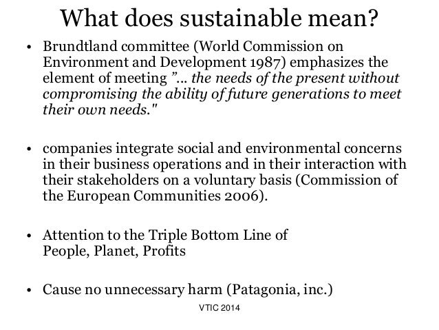 Vermont travel industry conference sustainable food and for What does sustainable fish mean