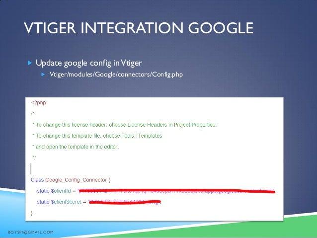 Vtiger for implementation vtiger integration maxwellsz