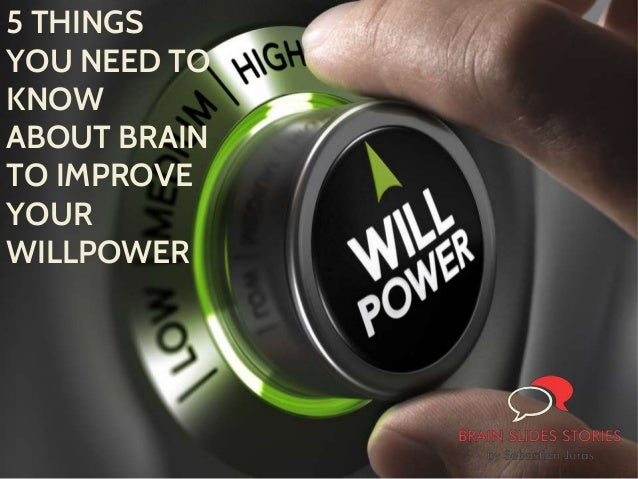 how to improve your willpower