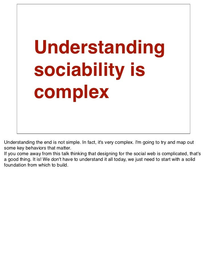 Social               networks are               not new.  The most important thing to know about social networks is that t...