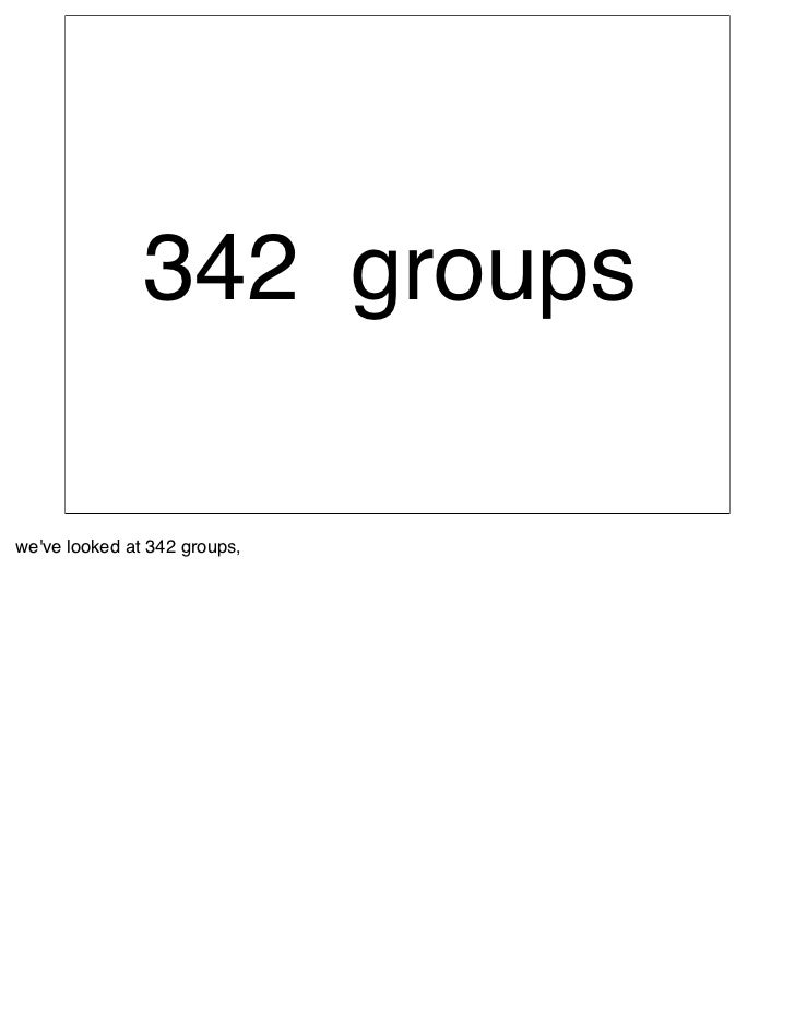 """85% of the               groups of friends               did not contain the               word """"friends""""  That leaves 85%..."""