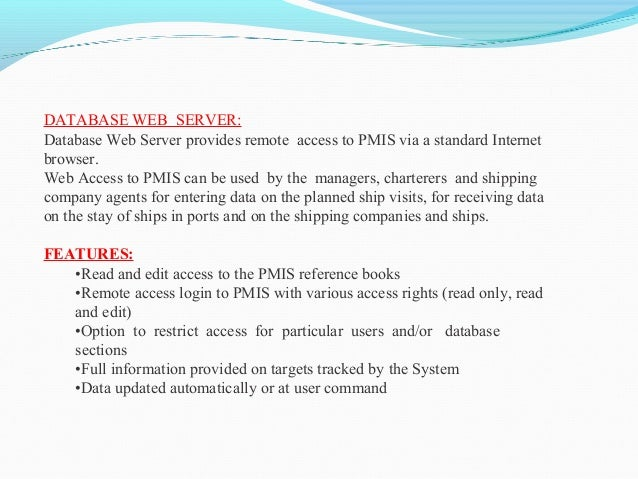 Vessel Traffic Management System