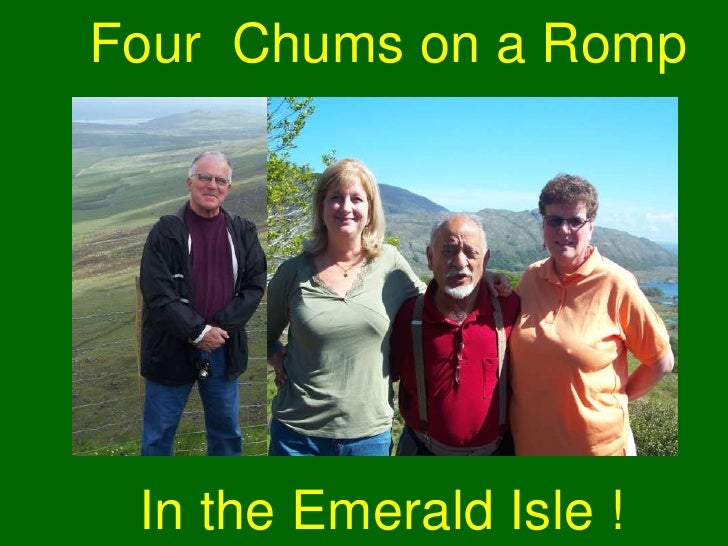 Four  Chums on a Romp<br />In the Emerald Isle !<br />