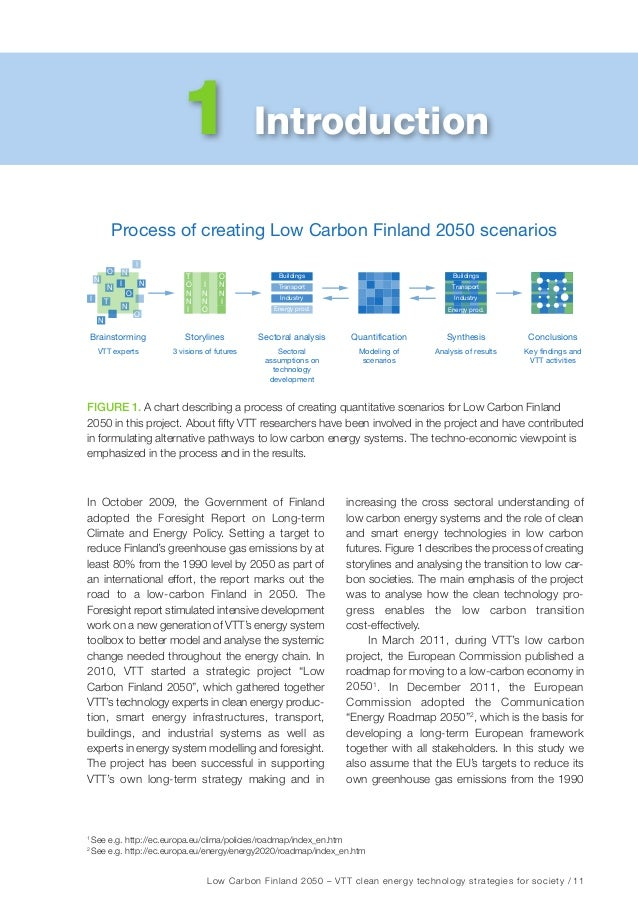 12 / Low Carbon Finland 2050 – VTT clean energy technology strategies for society Fact box: Finnish energy sector today in...